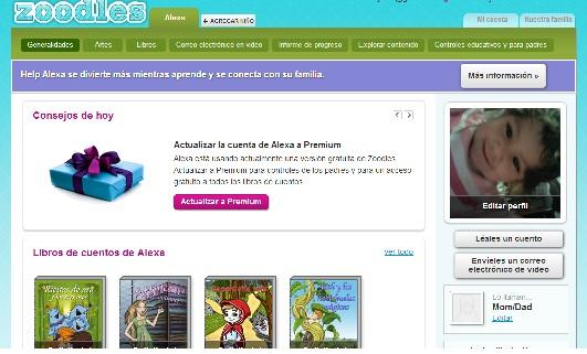 Zoodles una excelente aplicación para niños - zoodles