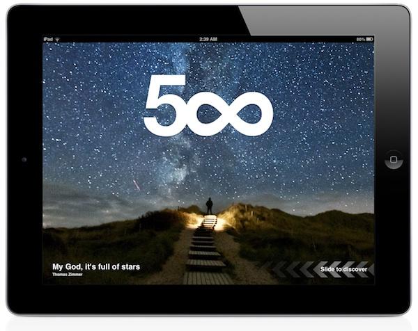 La red social de fotos 500px lanza su aplicación oficial para iOS - 500px-ios-ipad
