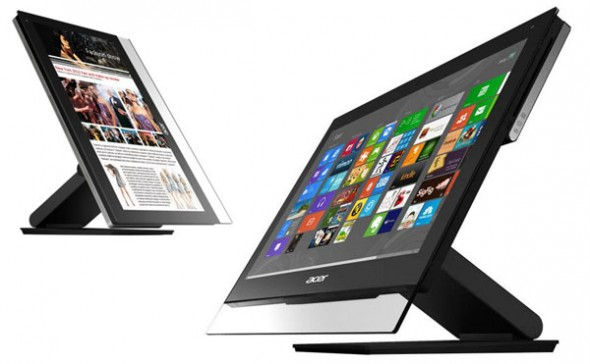 Acer presenta su línea renovada de productos con Windows 8 - Acer-Aspire-7600U-All-in-One--590x364