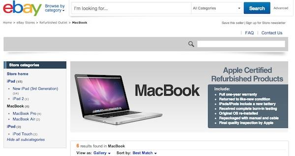 Apple abre una tienda en Ebay para vender productos refabricados - Apple-Store-refurbished