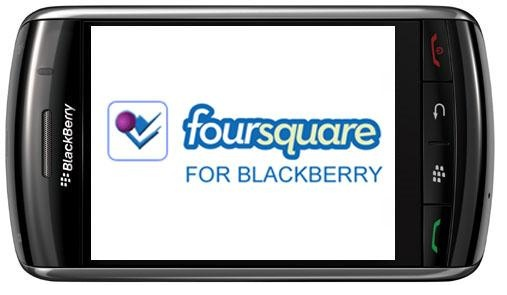 Foursquare actualiza su aplicación para BlackBerry - Foursquare-blackberry-app-post