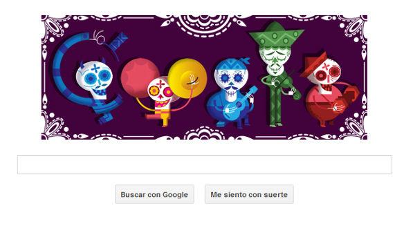 doodle de dia de muertos Google nos presenta Doodle alusivo al día de muertos