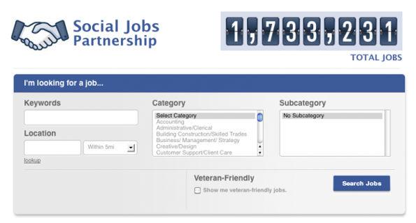 Facebook lanza herramienta para encontrar empleo llamada Social Jobs - facebook-lanza-social-jobs