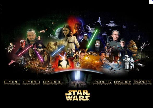 Breve Historia de Star Wars - la-historia-de-star-wars