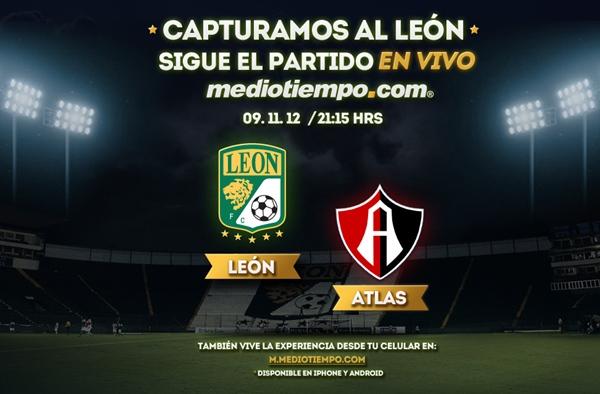 leon atlas en vivo apertura 2012 León vs Atlas en vivo, Liga MX (Apertura 2012)