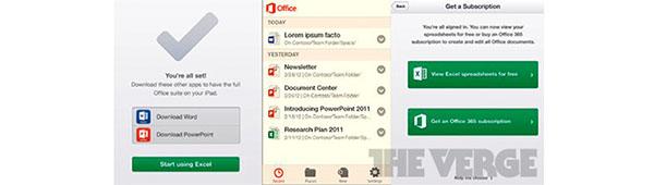 Microsoft Office para iOS se confirma oficialmente - office-ios-app