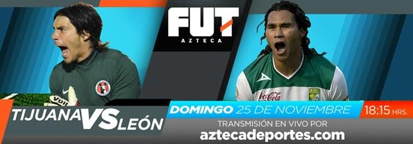 Tijuana vs León en vivo, Liguilla Apertura 2012 (Liga MX) - tijuana-leon-en-vivo-liguilla-apertura-2012