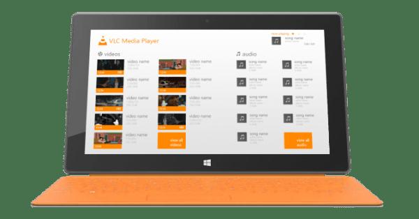 VLC aparece en Kickstarter para financiar las aplicaciones de Windows 8 y Windows RT - w8-vlc-main-600x314