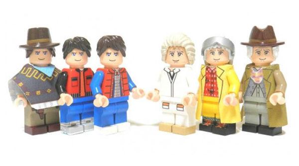 LEGO de Volver al Futuro llegará a mediados del 2013 - LEGO-volver-al-futuro-3