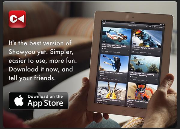 Showyou para iOS se actualiza a la versión 4.0 con interesantes mejoras - Showyou-iOS
