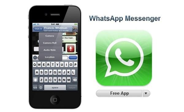Whatsapp para iPhone se convierte en aplicación gratuita por tiempo limitado - WhatsApp-Messenger-iPhone