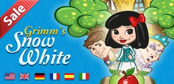 Las Mejores Apps para Android en el 2012 - blancanieves-de-los-grimm-600x292