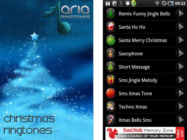 Tonos de navidad para Android con Christmas Ringtones - christmas-ringtones