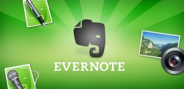 Las Mejores Apps para Android en el 2012 - evernote-android-600x292