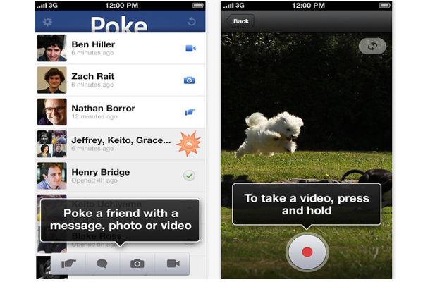 """Facebook lanza """"Poke"""" para iOS, una app para compartir mensajes con tiempo de expiración - facebook-lanza-poke"""