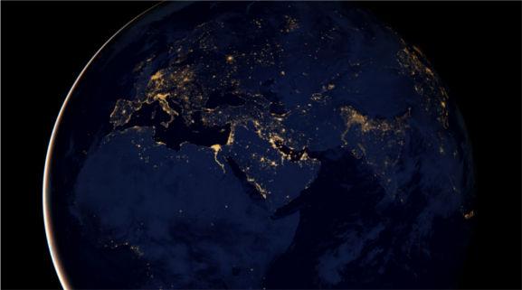 fotos de noche de la nasa en europa Fotografías de noche de la Tierra son publicadas por la NASA