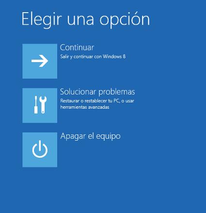 Cómo Iniciar Windows 8 en Modo Seguro - inicio-windows-8