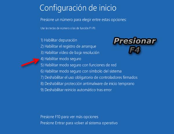 Cómo Iniciar Windows 8 en Modo Seguro - inicio-windows-modo-seguro-2