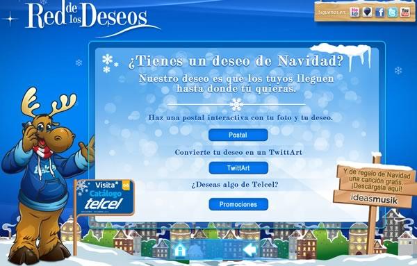 Tarjetas de navidad por Telcel - postales-navidad-telcel-1