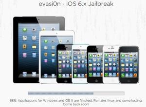 Evasi0n, la herramienta para Jailbreak en iOS 6.1 estará disponible pronto