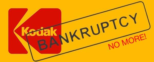Kodak se libra de la bancarrota - Kodak-sale-de-bancarrota