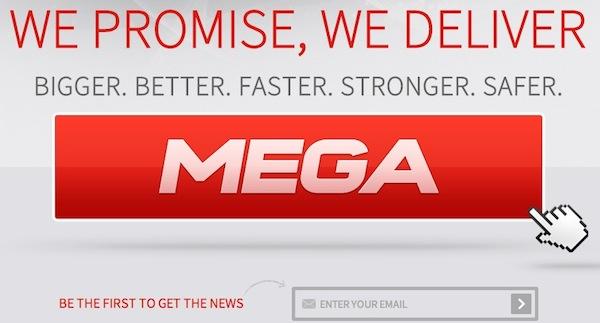 Mega servicio almacenamiento Mega, el nuevo servicio de almacenamiento en la nube esta llegando