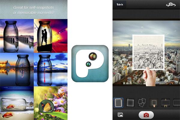 PIP Camera, una excelente aplicación para hacer efecto Pic-in-Pic para iPhone y Android - PIP-Camera-ios-Android