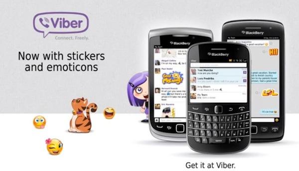 Viber para BlackBerry permitirá llamadas por voz en abril - Viber-BlackBerry-llamdas-de-voz