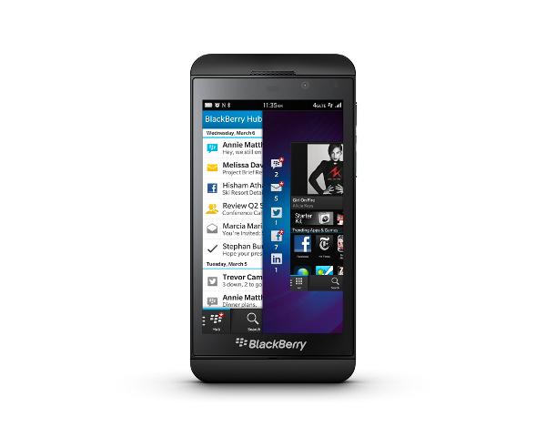 BlackBerry Z10 fue presentado oficialmente - blackberry-z10