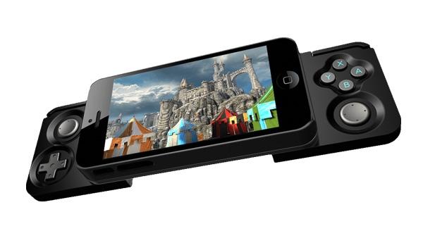 Accesorio de iPhone 5 ideal para videojugadores - carcasa-iphone-5-para-videojuegos-caliber-advantage