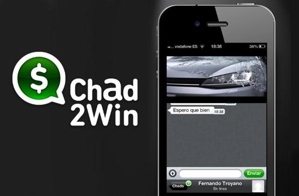 Chad2Win, gana dinero solo por chatear con amigos - chad2win-logo