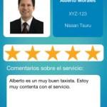 Pide taxi de manera segura desde tu celular con Clicab - clicab-calificacion