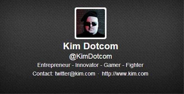 Kim Dotcom anuncia que por el momento no hay posibilidad de recuperar las cuentas premium de el extinto MegaUpload - cuenta-oficial-twitter-kim-dotcom