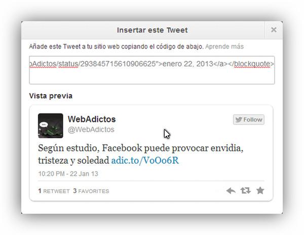 Twitter rediseña los tuits embebidos y ahora muestran mas información - insertar-tweets