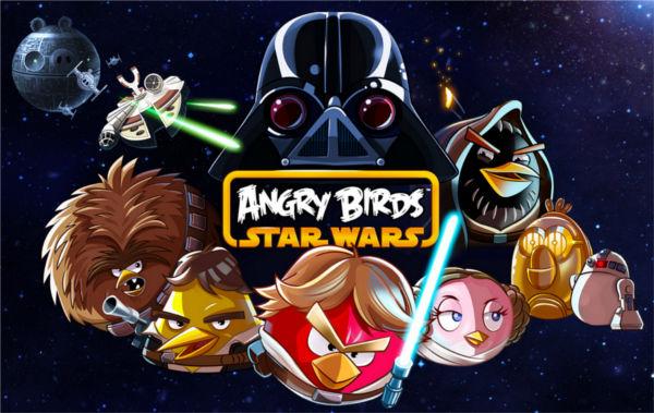 Según estudio, Angry Birds es el juego más adictivo de Android para los niños - juego-angry-birds-star-wars