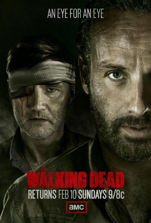 AMC lanzó nuevo póster sobre la 2da parte de la 3ra temporada de The Walking Dead - poster-the-walking-dead