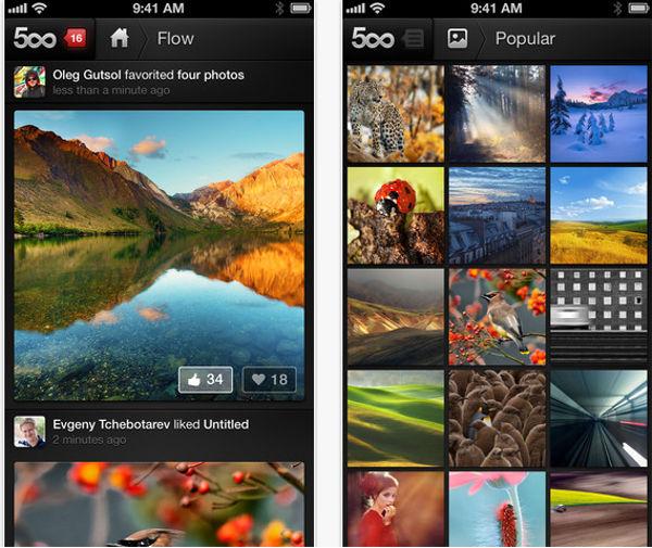 La aplicación 500px regresó a la App Store después de ser retirada por contenido para adultos - regresa-500px-a-la-app-store
