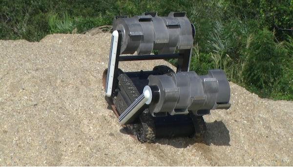NASA desarrolla prototipo de robot excavador para buscar agua en la luna - robot-RASSOR-de-la-NASA