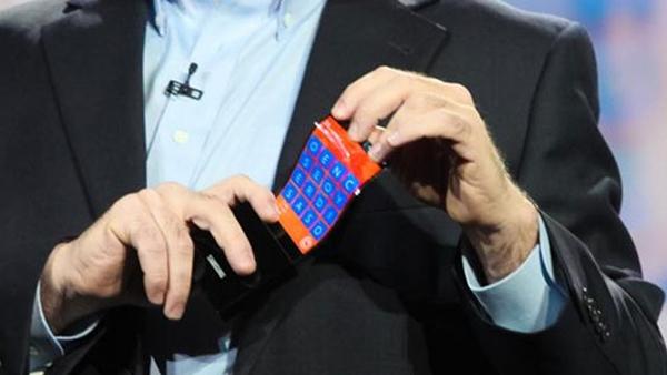 Samsung revela su nuevo celular flexible - samsung-celular-flexible