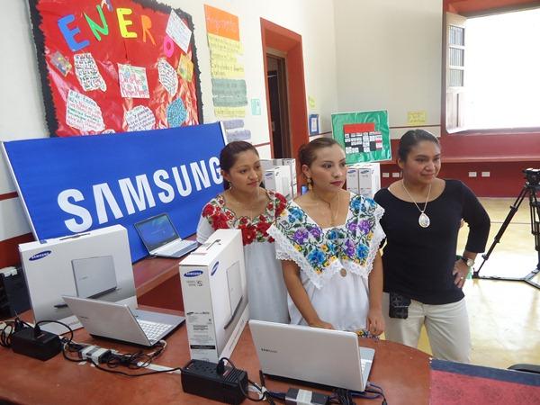 Samsung México apoyando a las comunidades Mayas - samsung-fundacion-haciendas-del-mundo-maya