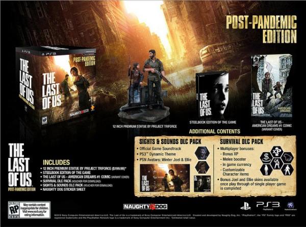 Se anuncian las ediciones especiales de The Last of Us - the-last-of-us-post-pandemic-edition-600x446
