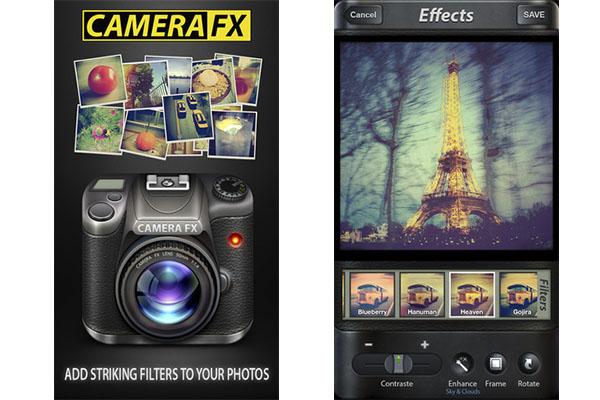 Camera FX para iOS disponible de manera gratuita por tiempo limitado - Camera-FX-iOS