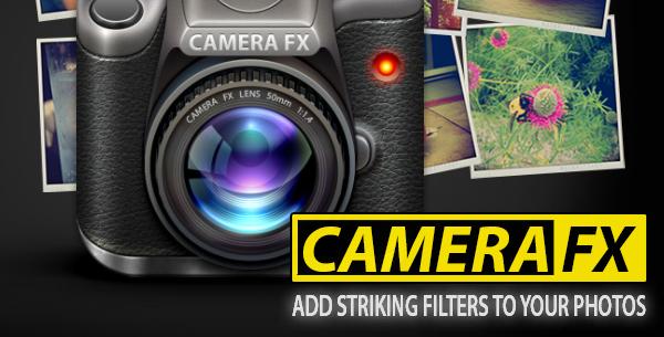 Camera FX para iOS disponible de manera gratuita por tiempo limitado - Camera-FX