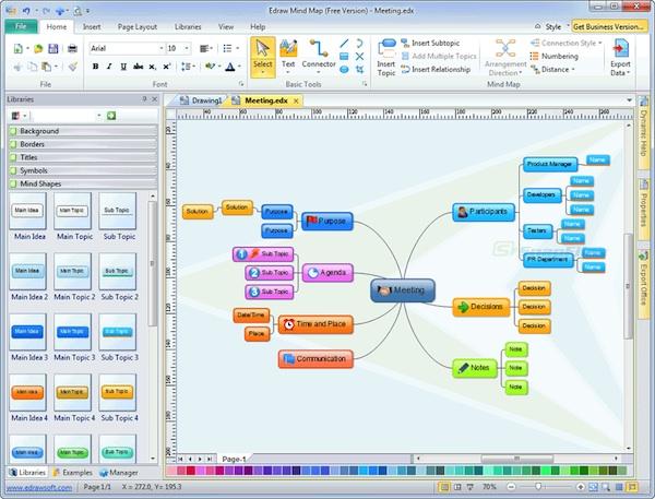 Crear mapas mentales windows Crear mapas mentales con Edraw Mind Map para Windows