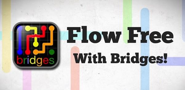 Flow Free: Bridges el nuevo juego para iOS y Android que pondrá al límite tu inteligencia - Flow-Free-Bridges