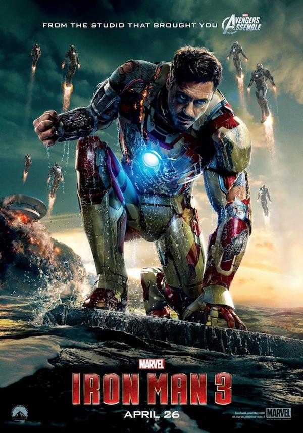 Nuevo e impresionante póster de Iron Man 3 es publicado - Poster-Iron-Man-3