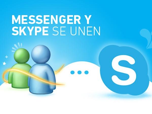 Microsoft forzará a los usuarios de MSN a utilizar Skype a partir del 8 de abril - Skype-Rempleza-MSN