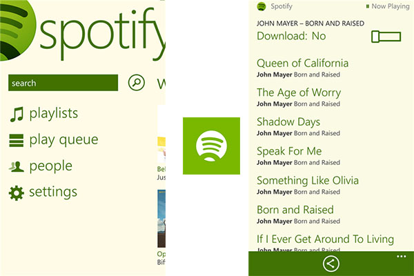 Spotify para Windows Phone por fin disponible - Spotify-Windows-Phone