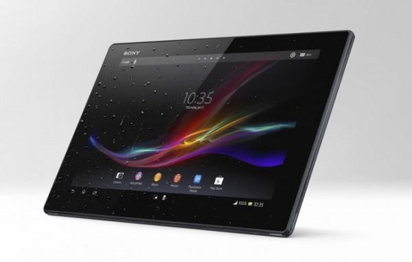 Xperia Z Tablet, Sony también diseñó su tableta que resiste al agua y polvo - Xperia-Tablet-Z-Front-650x413-600x381