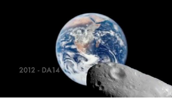 Observar en vivo el paso del asteroide 2012 DA14 - asteroide-pasara-cerca-de-la-tierra-en-febrero